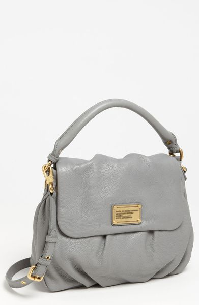 Marc By Marc Jacobs Classic Q Little Ukita Shoulder Bag in Gray (storm cloud)