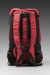 Nixon Landlock Backpack in Black (bermuda red) - Lyst