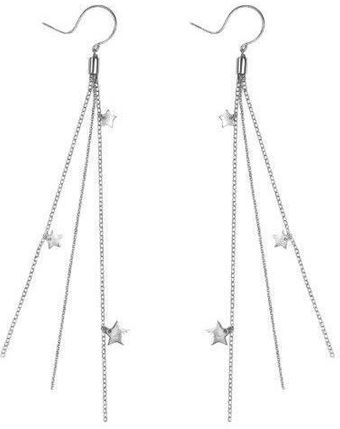 Emma Guest Jewellery Bright Star Multichain Earrings - Lyst