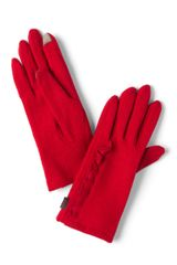 ModCloth On The Silver Touchscreen Gloves in Red - Lyst