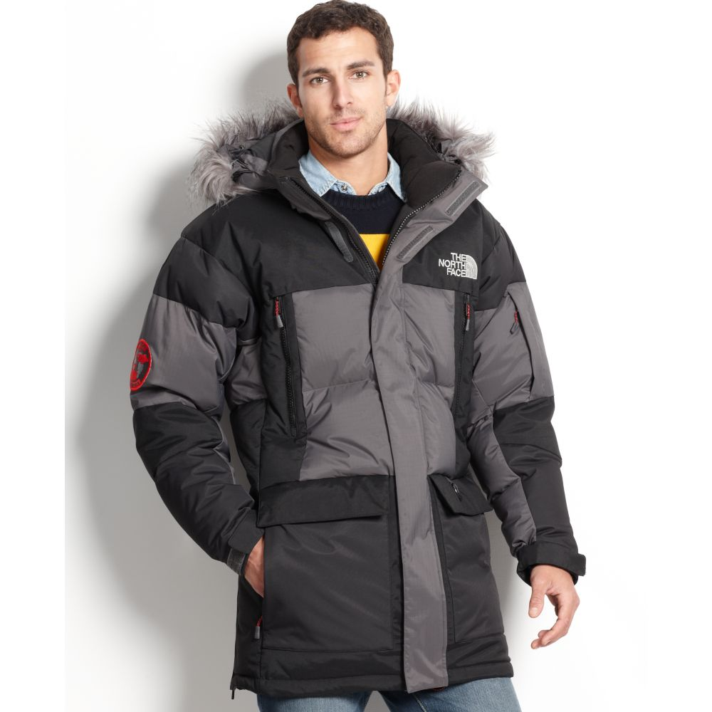 North face vostok expedition men's down parka