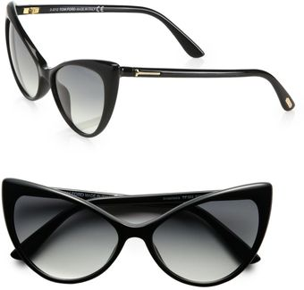 Tom Ford Anastacia Catseye Sunglasses - Lyst