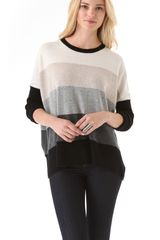 Brochu Walker Striped Crew Neck Sweater - Lyst
