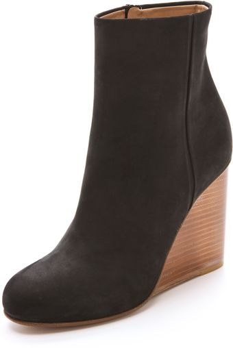 Maison Martin Margiela Plexi Covered Wedge Booties - Lyst