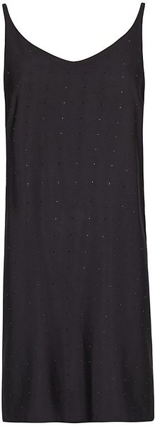 Mango Wrapped Back Strass Dress - Lyst