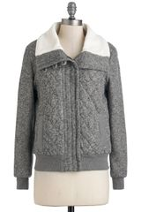 ModCloth Stormy Heather Jacket - Lyst