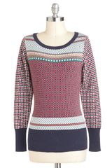 ModCloth Cookbook Club Sweater - Lyst