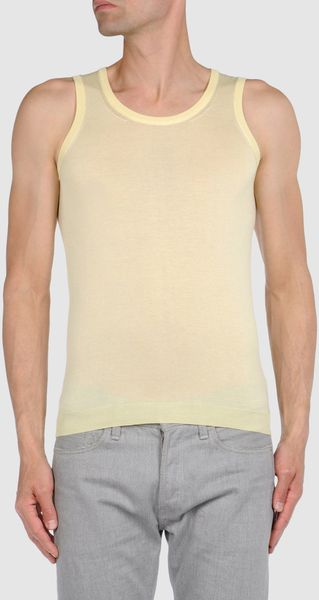 Raf Simons Sleeveless Top - Lyst