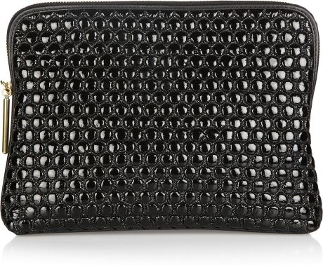 3.1 Phillip Lim 31 Minute Quilted Leather Clutch in Black - Lyst
