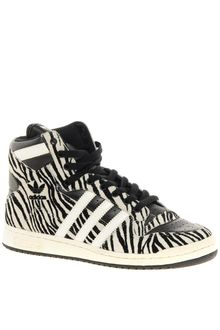 Adidas Decade Animal Print High Top Trainers - Lyst