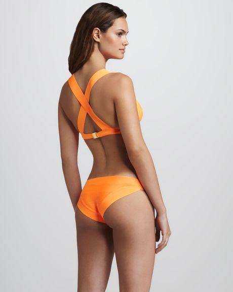 Neon Orange Bikini 42