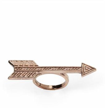 House Of Harlow Antiqued Arrow Ring - Lyst