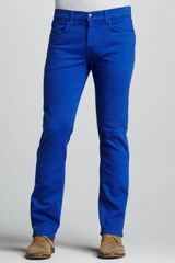 Joe's Jeans Brixton Slim Ultra Blue Jeans - Lyst
