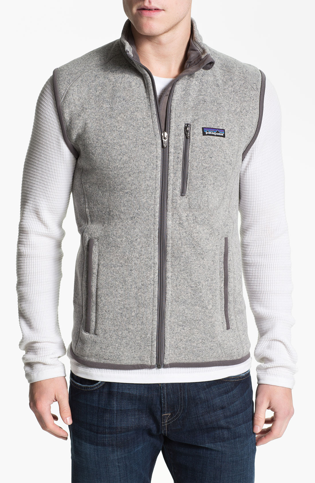 Patagonia Better Sweater Vest Grey - Cardigan With Buttons
