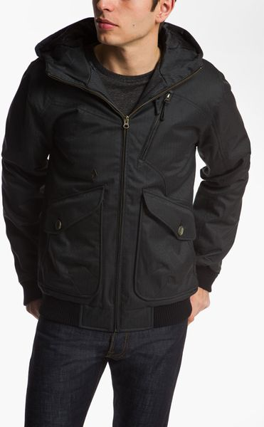 Volcom Cavalier Ii Jacket In Black For Men Lyst