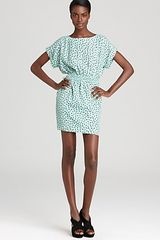 BCBGeneration Dress Diamond Print - Lyst