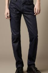 Burberry Steadman Coated Colour Slim Fit Jeans - Lyst