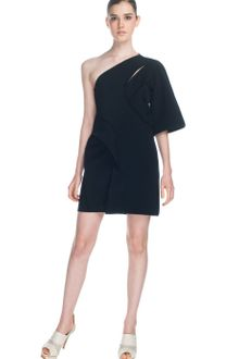 Cris Barros Oneshoulder Dress - Lyst
