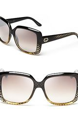 Gucci Oversized Square Sunglasses - Lyst