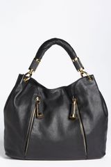 Michael Kors Tonne Leather Hobo - Lyst