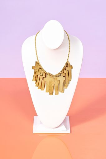 Nasty Gal Empyrean Cross Necklace - Lyst