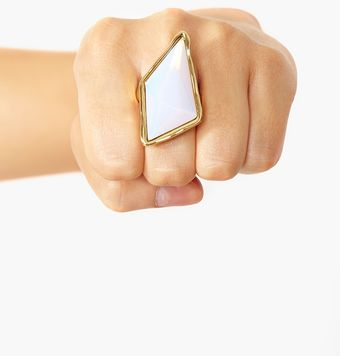 Nasty Gal Glam Rock Ring - Lyst