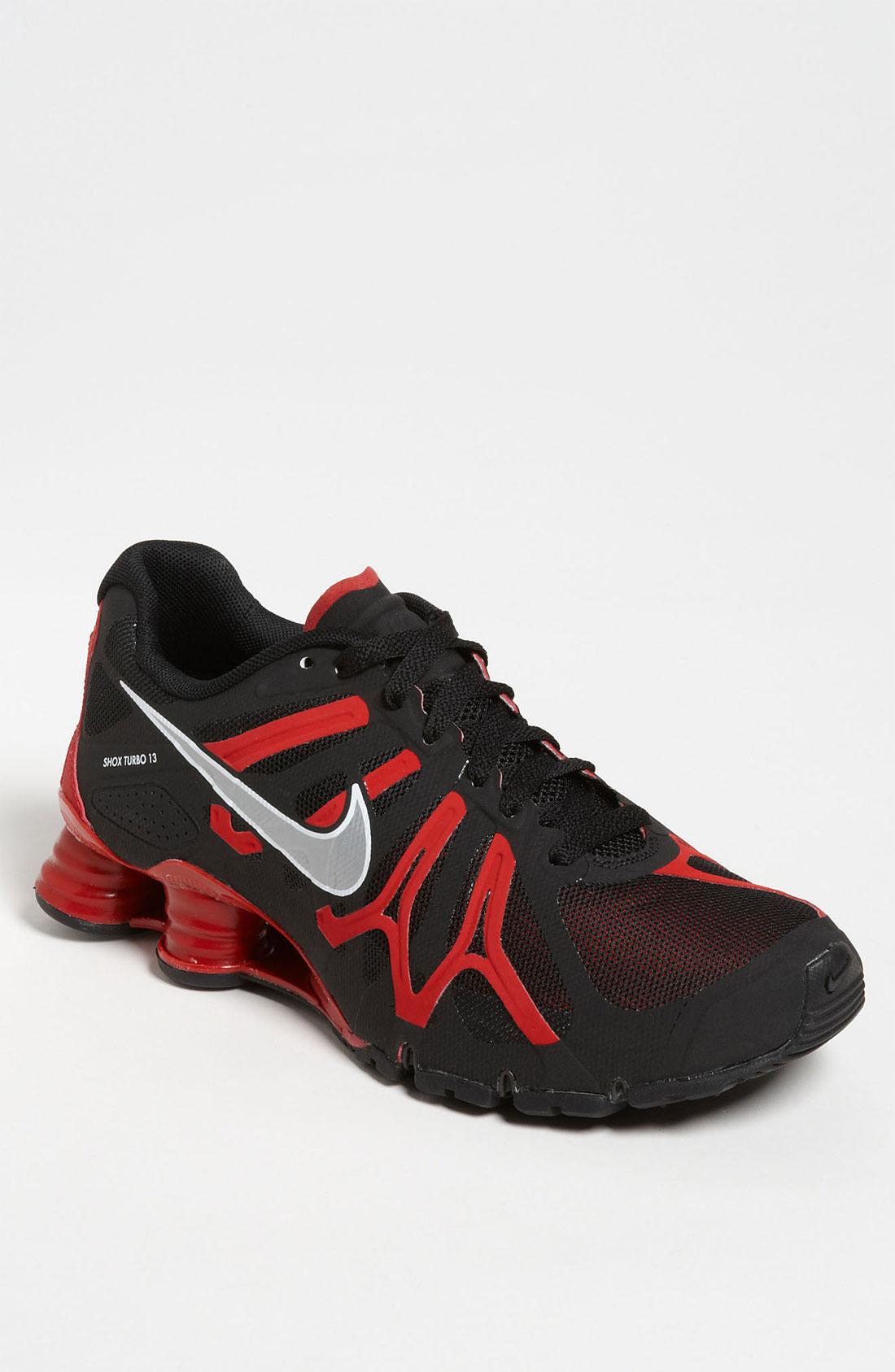 Nike Shox Turbo Black Red
