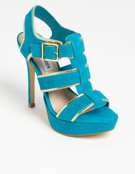Steve Madden Tessyy Pump in Blue (teal multi) - Lyst