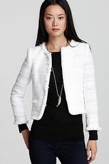 Alice + Olivia Kidman Open Front Box Jacket  - Lyst