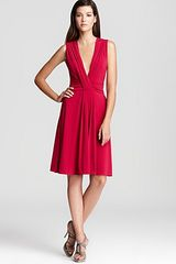 Armani Dress Deep V Neck with Keyhole Back - Lyst
