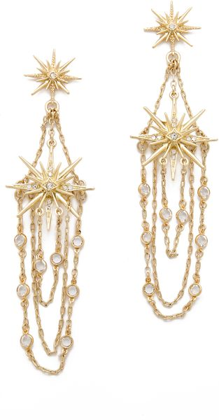 Belle Noel Vintage Glamour Earrings - Lyst