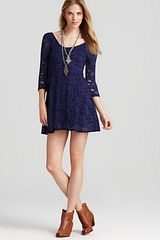 Free People Dress Lace Party - Lyst