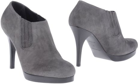 Balenciaga Shoe Boots in Gray (grey) - Lyst