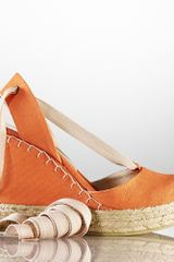 Ralph Lauren Collection Gayle Canvas Espadrille - Lyst