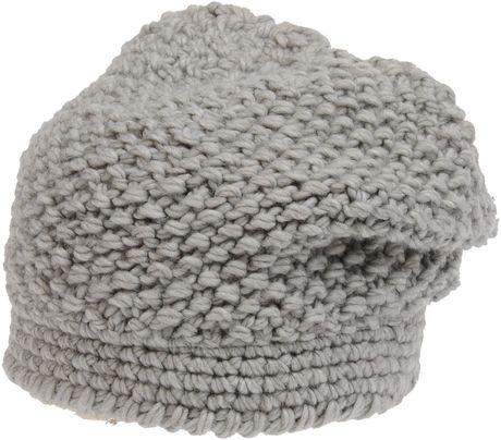 Stefanel Hat in Gray - Lyst