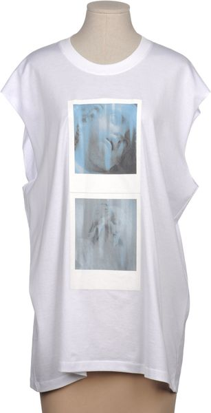 Givenchy Sleeveless T-Shirt - Lyst