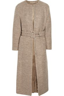 Acne Farrah Collarless Wool Coat - Lyst