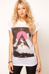 ASOS Collection Asos Tshirt with Space Photographic Print - Lyst