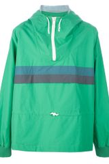 Band Of Outsiders Hooded Windbreaker - Lyst