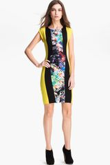 BCBGMAXAZRIA Meyna Woven Sheath Dress