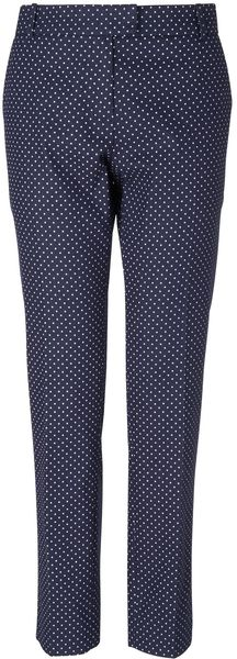 Boutique By Jaeger Louisa Spotty Trousers - Lyst