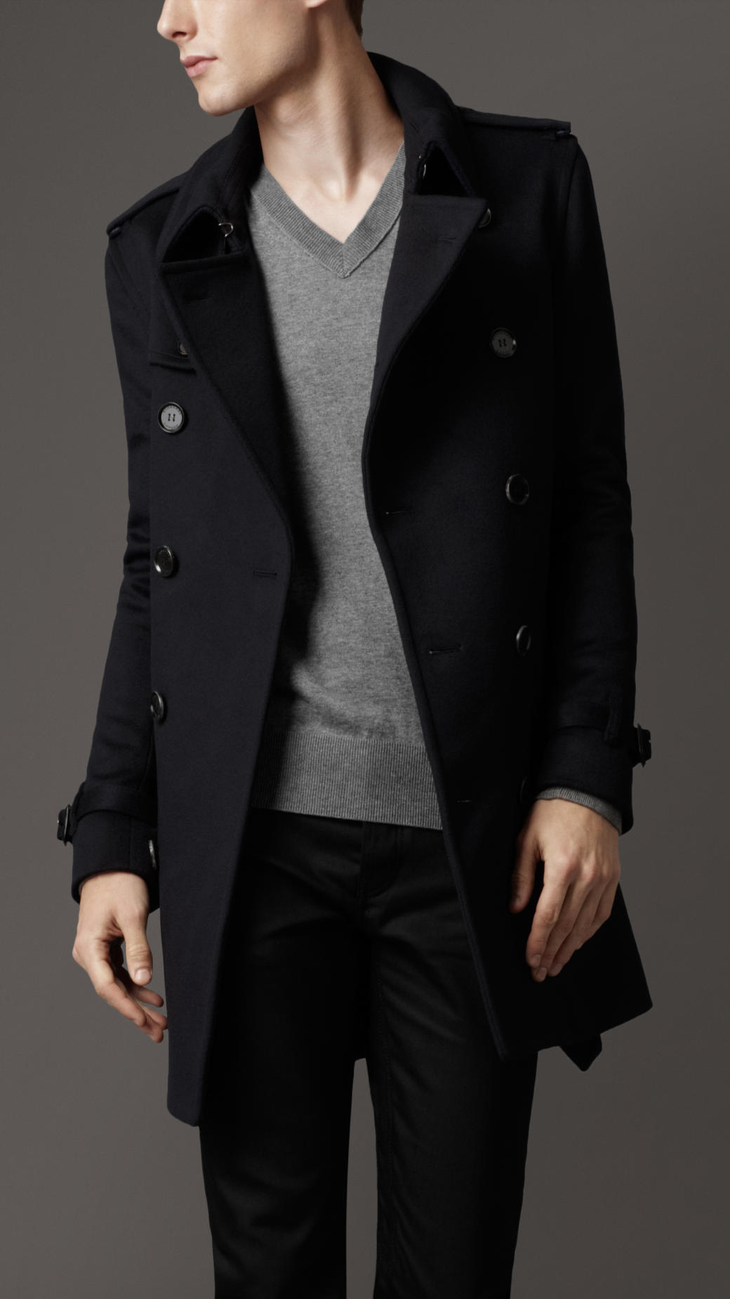 Hot New Fashion Slim Fit Men Casual Trench Coat Mens Long Winter Coats Mens Man Wool UK Style Outwear Overcoat Outerwear Find Similar US $ - / Piece.
