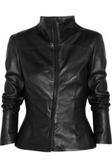 Calvin Klein Laisa Leather Jacket - Lyst