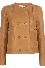 Carven Shearling Jacket - Lyst