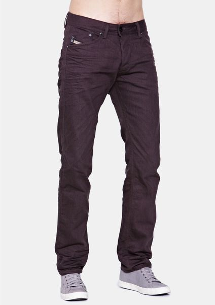 Diesel Diesel Darron 8qu Slim Fit Colour Mens Jeans in Black for Men