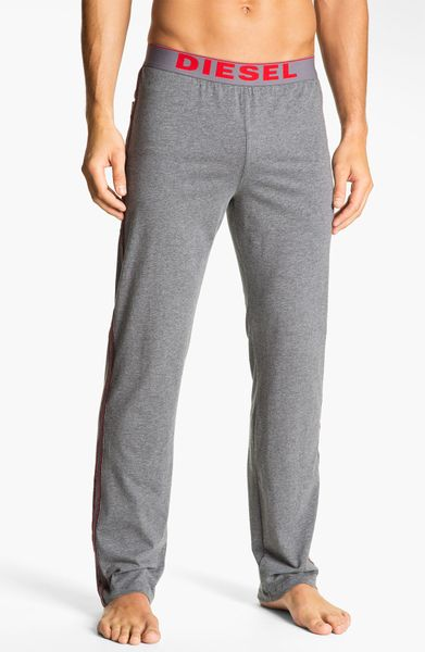 Diesel Adonis Lounge Pants In Gray For Men Grey Lyst