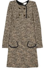 Emanuel Ungaro Bouclé Dress - Lyst