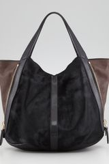 Givenchy Tinhan Calf Hair Shopper Tote Bag Blackbrown - Lyst
