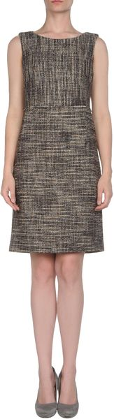 La Via 18 Short Dress - Lyst