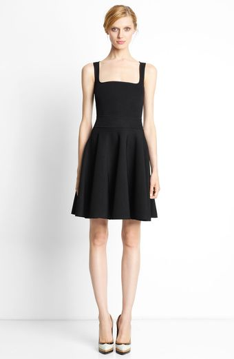 Lanvin Sleeveless Knit Dress - Lyst